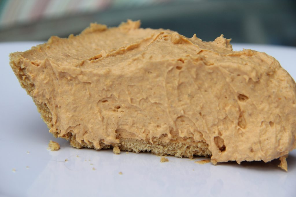 Pumpkin Butterscotch No Bake Pie