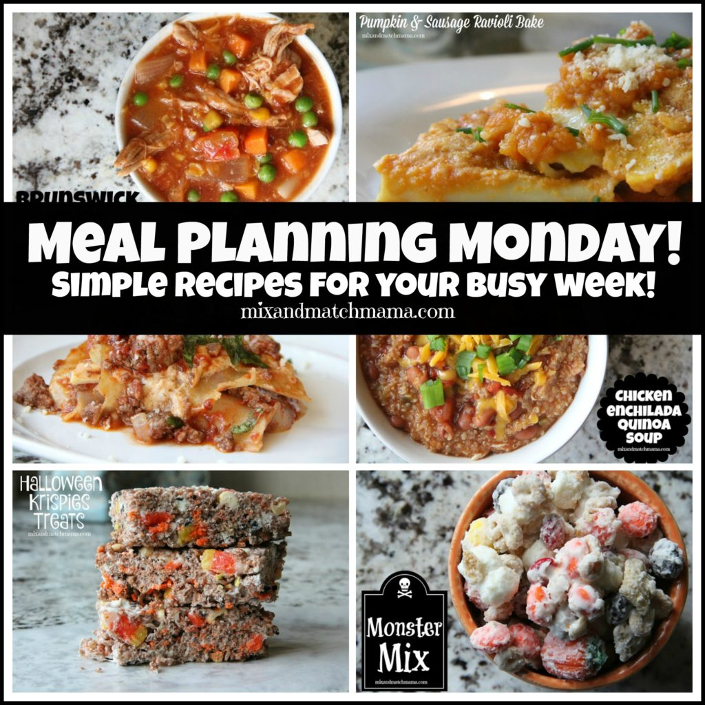 , Meal Planning Monday #157