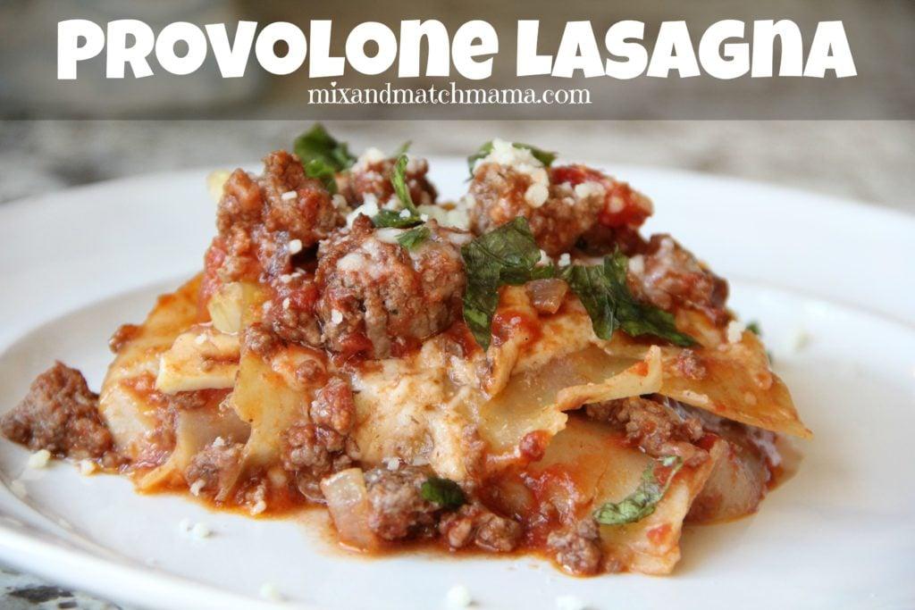 Provolone Lasagna Recipe, Provolone Lasagna