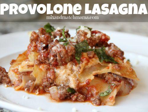 Provolone Lasagna