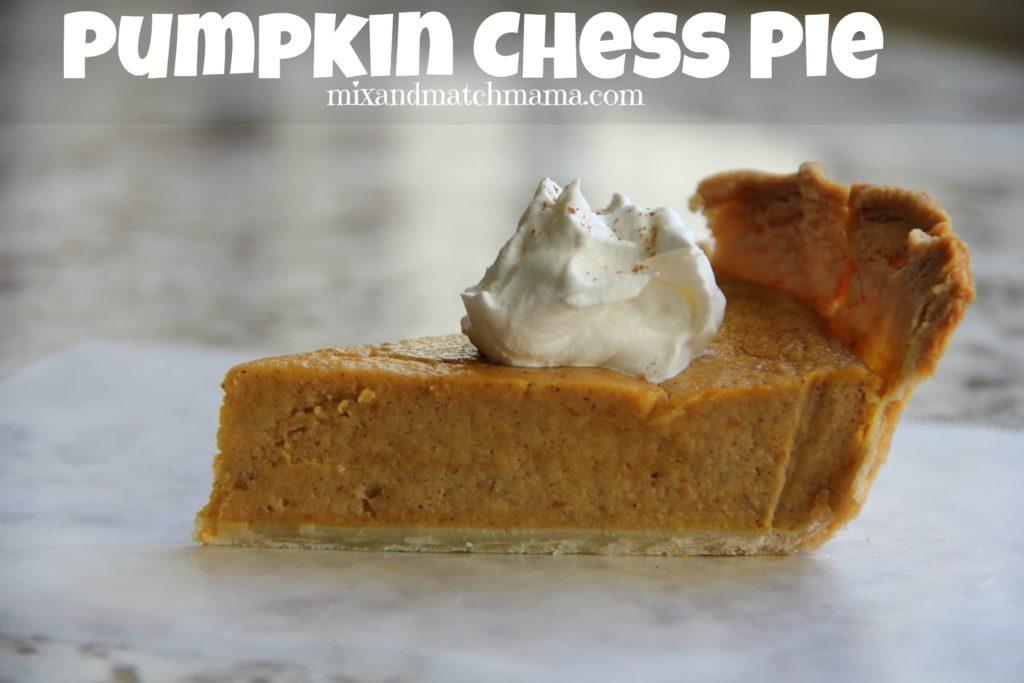 Pumpkin Chess Pie