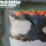 Pumpkin Patch Brownie Trifle