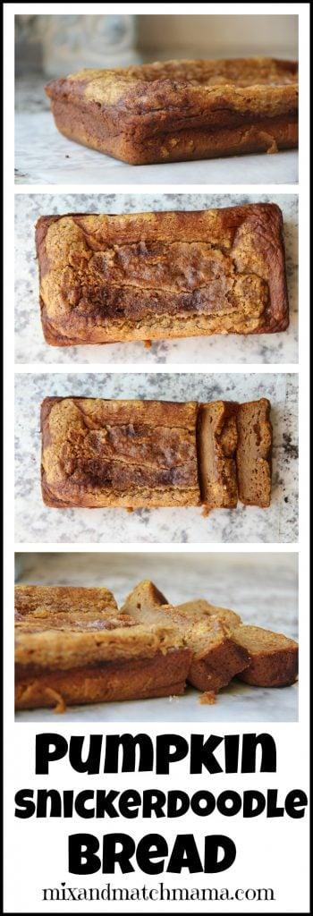 Pumpkin Snickerdoodle Bread Recipe, Pumpkin Snickerdoodle Bread