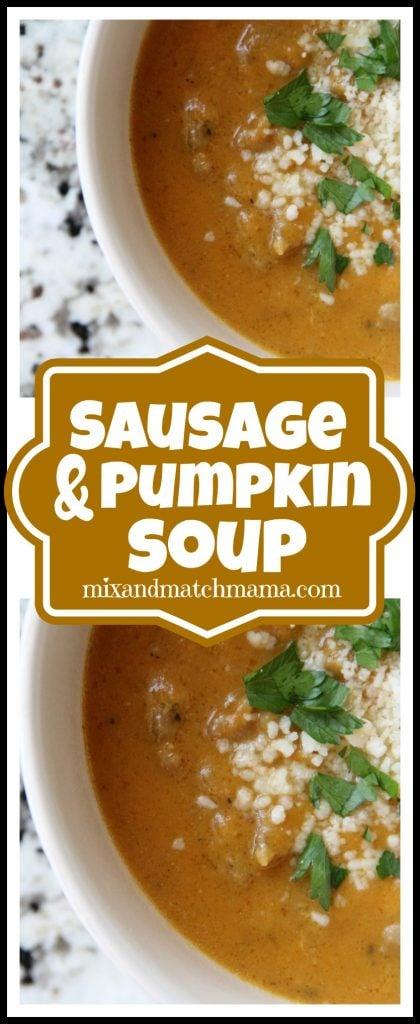 Sausage & Pumpkin Soup Recipe, Sausage & Pumpkin Soup