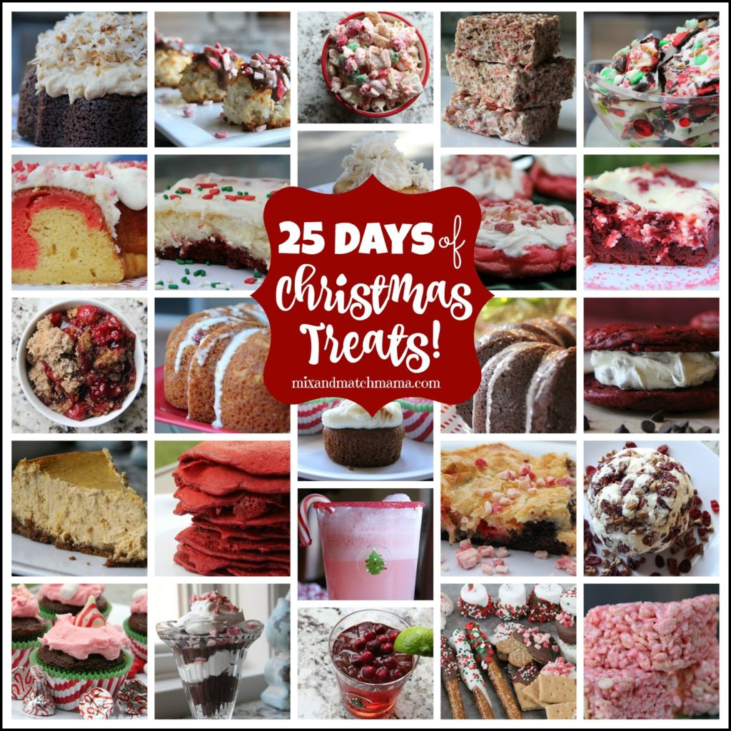 25 Days of Christmas Treats
