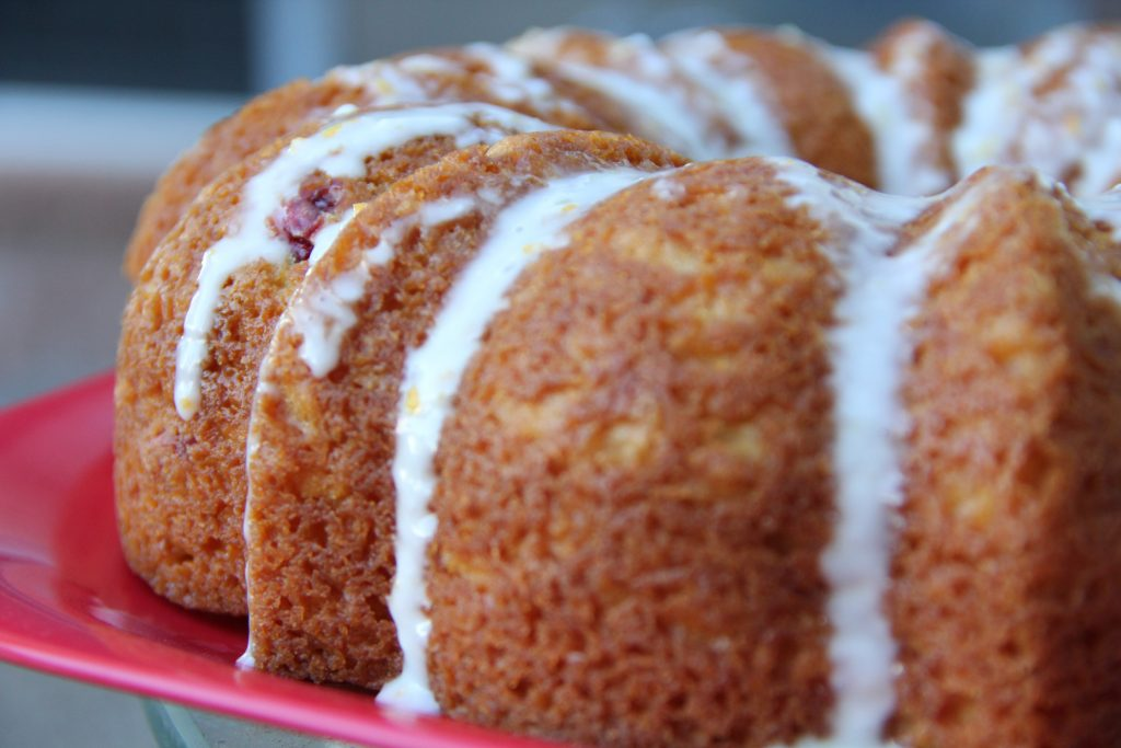Orange Cranberry Cupcakes Cake Mix