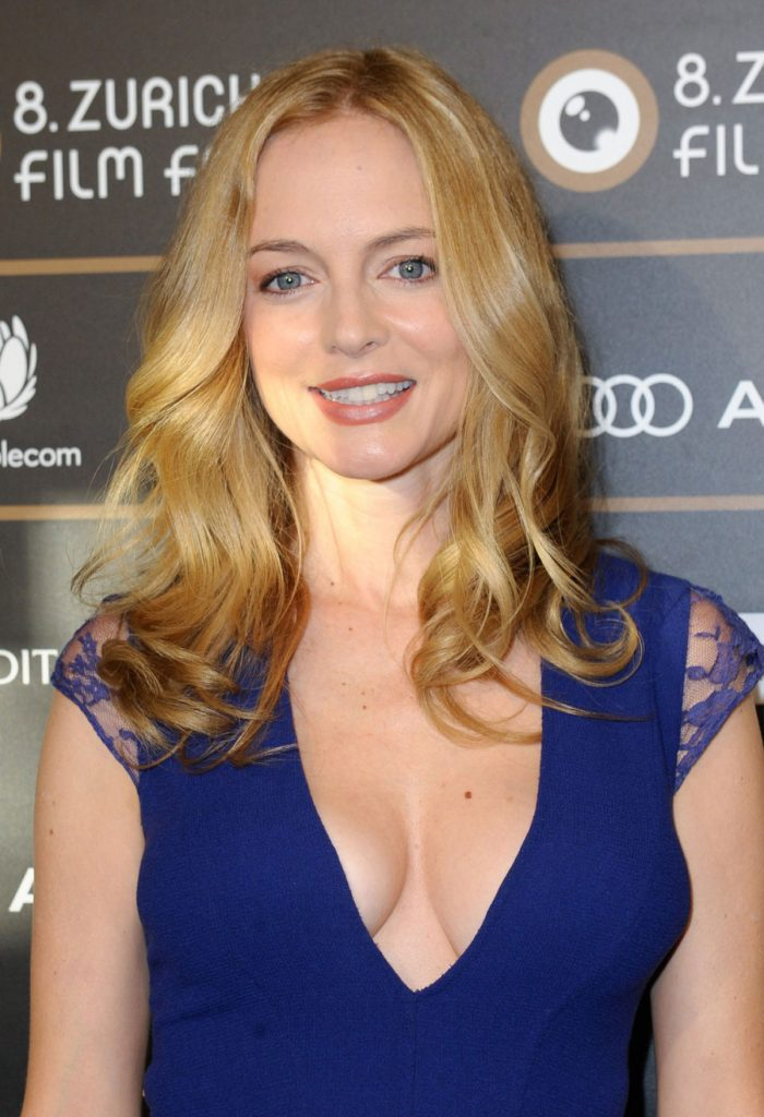 HEATHER GRAHAM at At Any Price Premiere