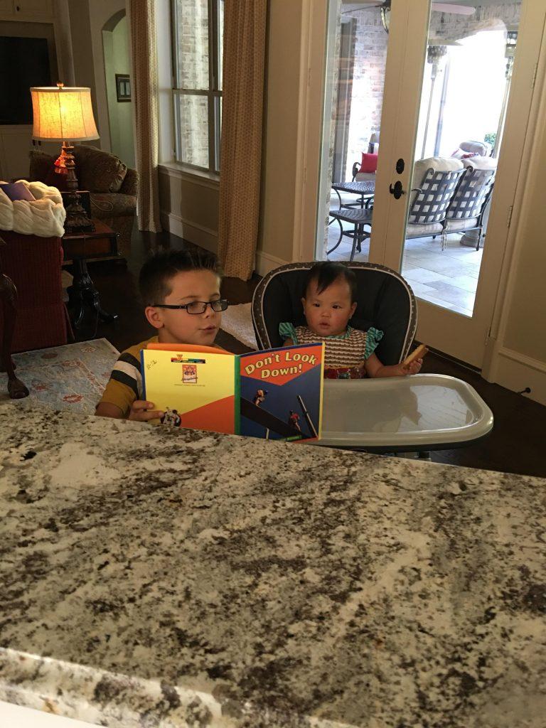 , Books for little readers.