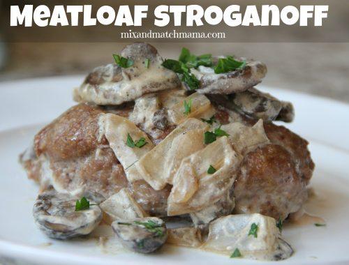 Meatloaf Stroganoff