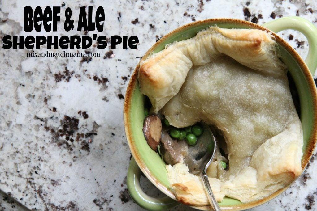 Beef & Ale Shepherd's Pie