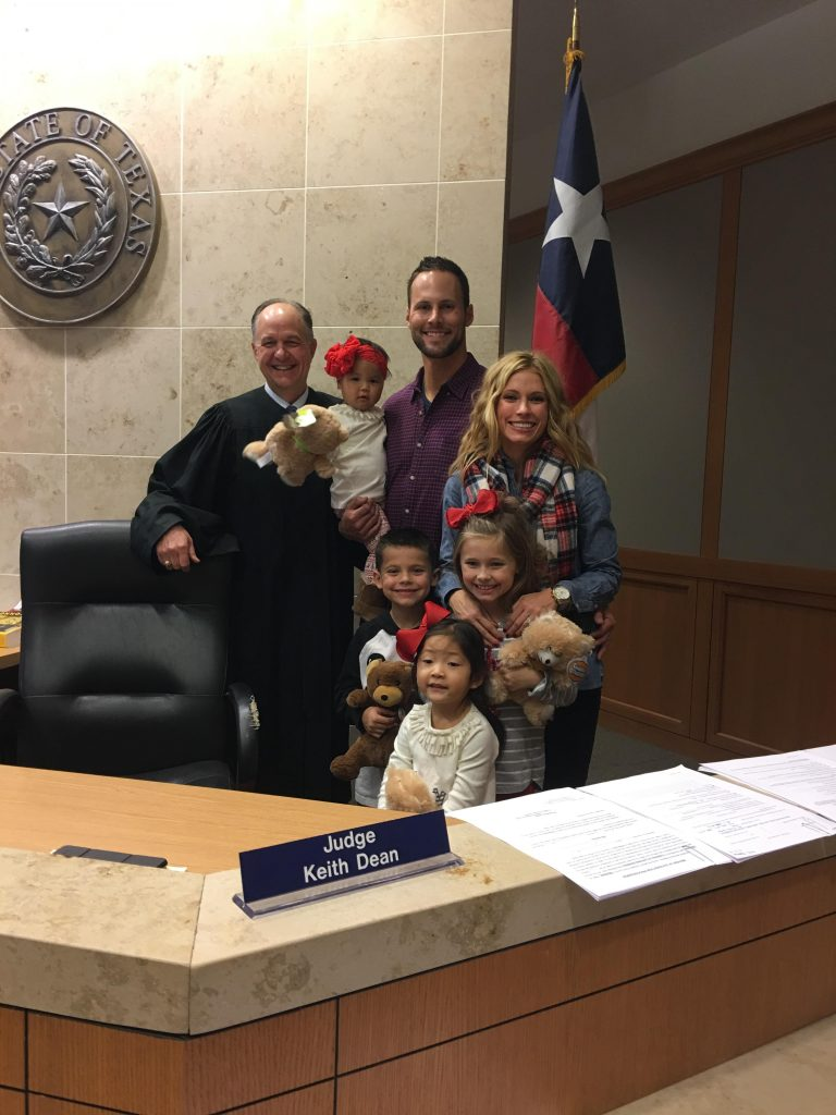 , Madeley Post Adoption: Month 3