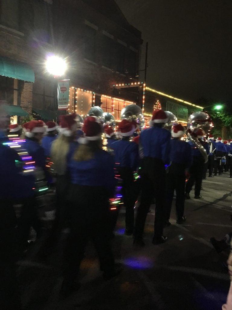 , Parade Lights & Santa's Lap