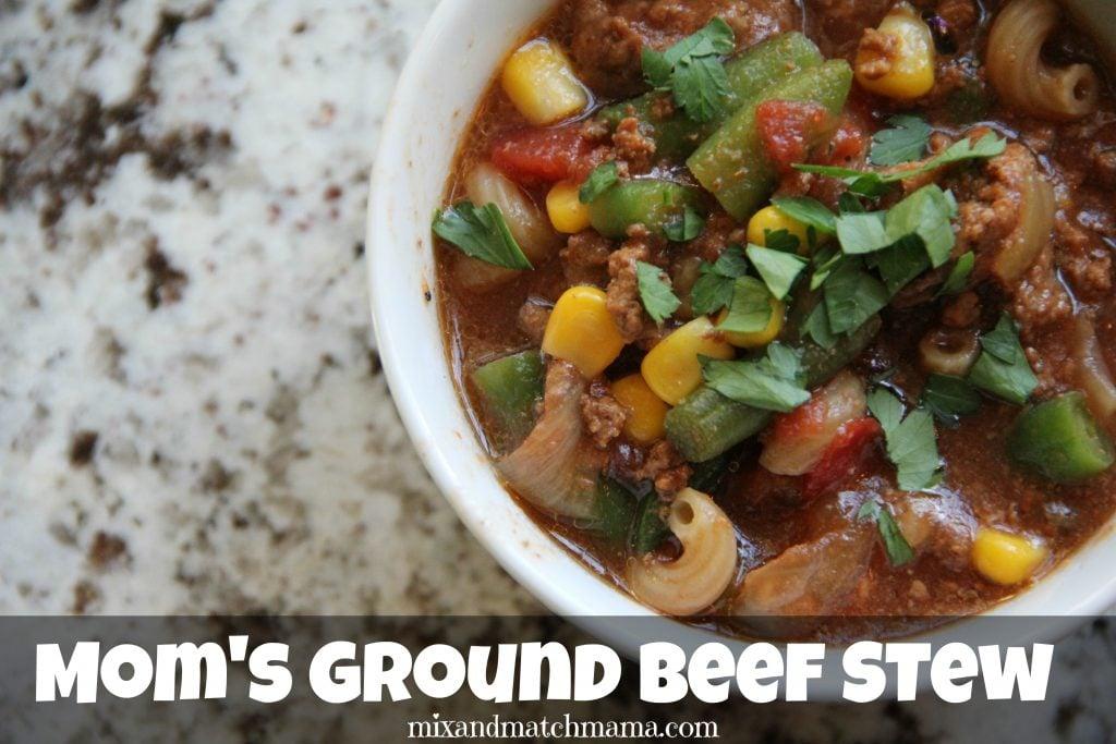 Ground Beef Stew