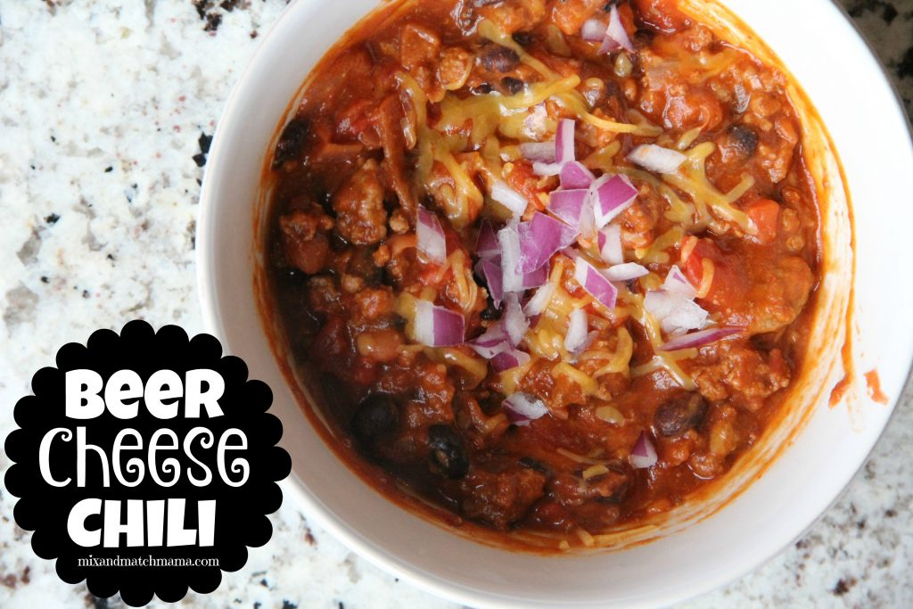 Beer Cheese Chili