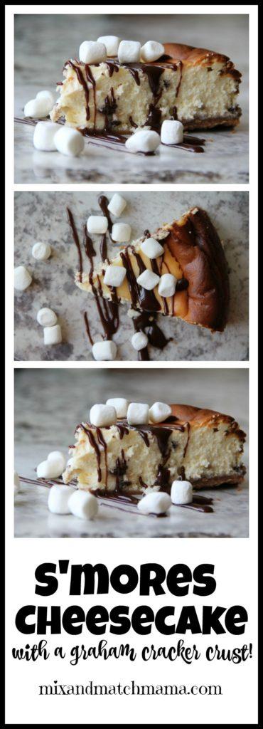 S'Mores Cheesecake Recipe, S'mores Cheesecake