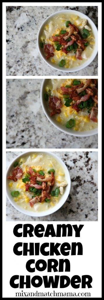 Creamy Chicken Corn Chowder Recipe, Creamy Chicken Corn Chowder