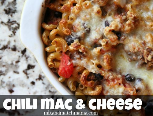 Chili Mac & Cheese