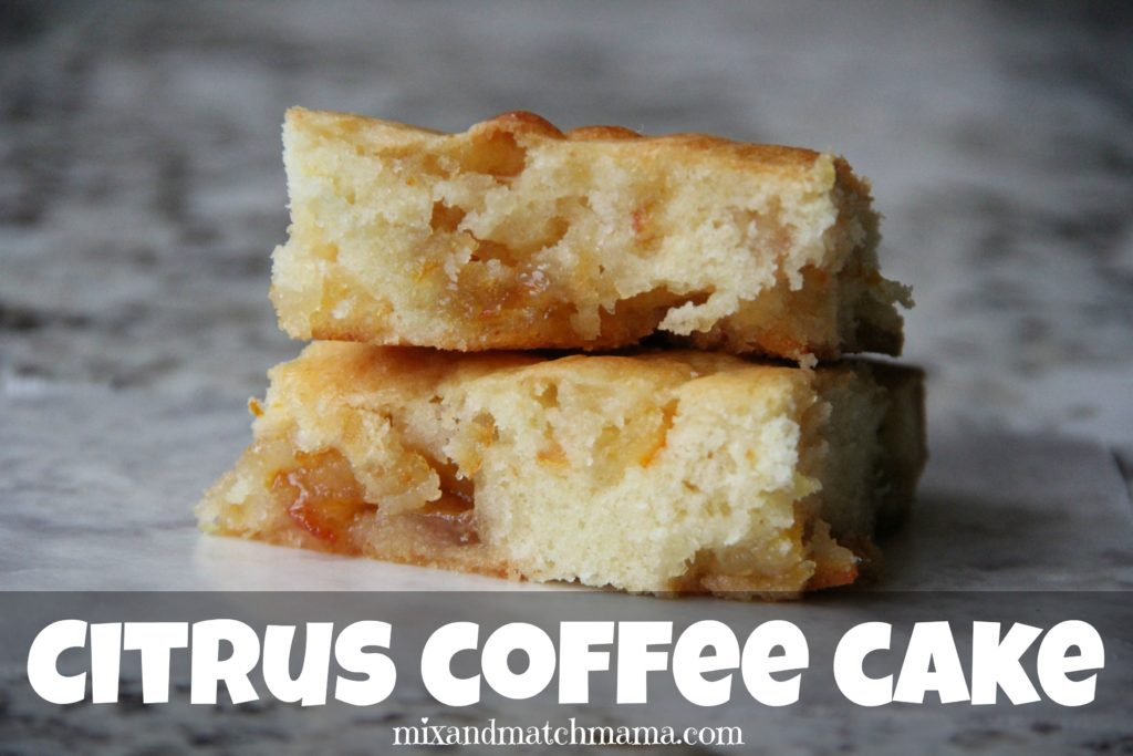Orange Marmalade Coffee Cake Recipe