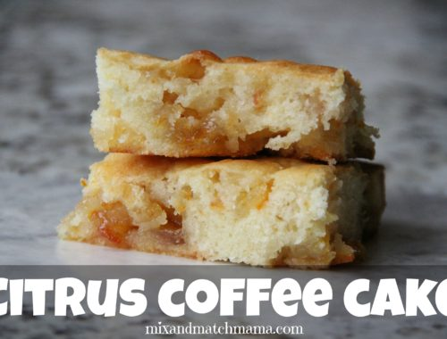 Citrus Coffee Cake