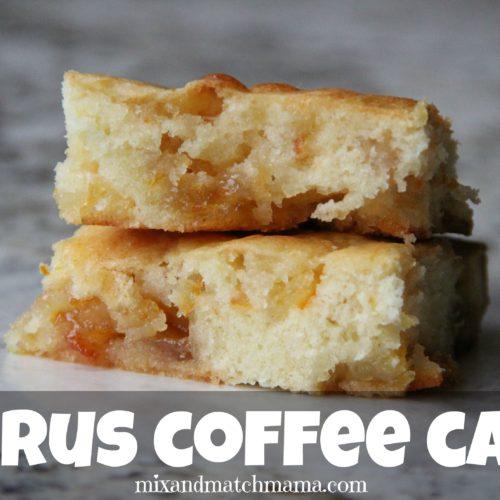 Citrus Coffee Cake