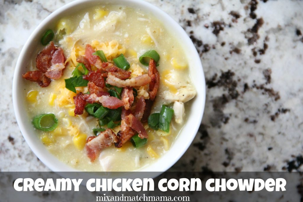 Creamy Chicken Corn Chowder