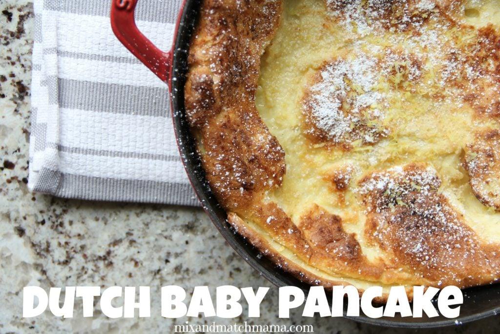 Dutch Baby Pancake Recipe, Dutch Baby Pancake