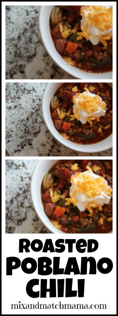 Roasted Poblano Chili