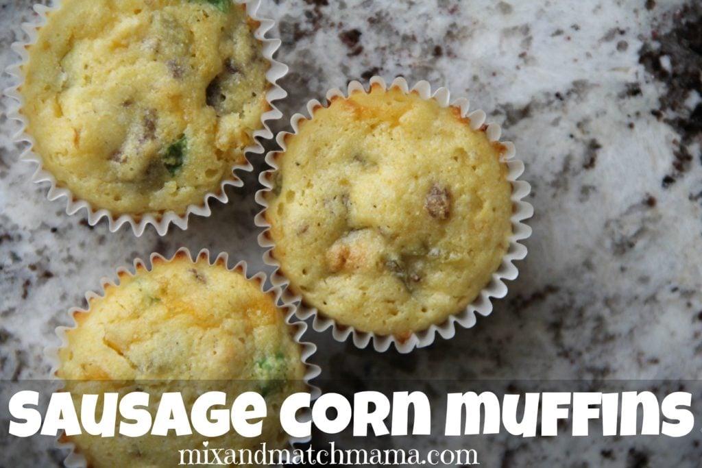 Sausage Corn Muffins Recipe, Sausage Corn Muffins