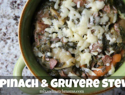 Spinach & Gruyere Stew
