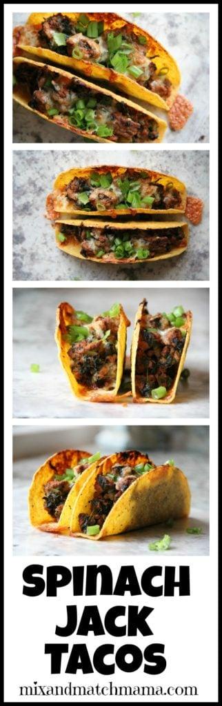 Spinach Jack Tacos Recipe, Spinach Jack Tacos