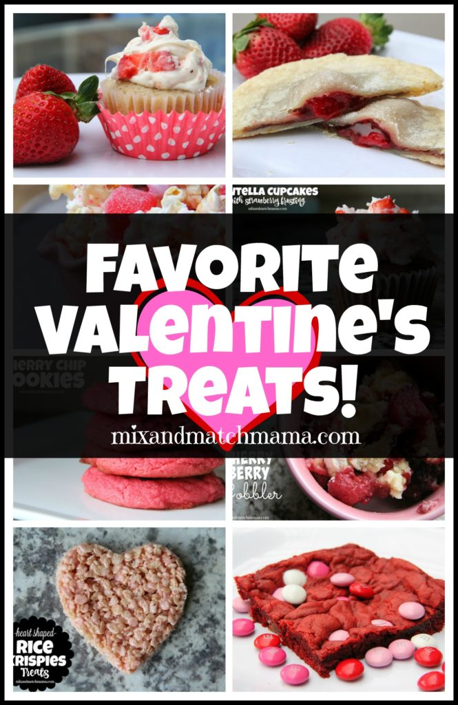 Favorite Valentine's Treats Recipe, Favorite Valentine's Treats!