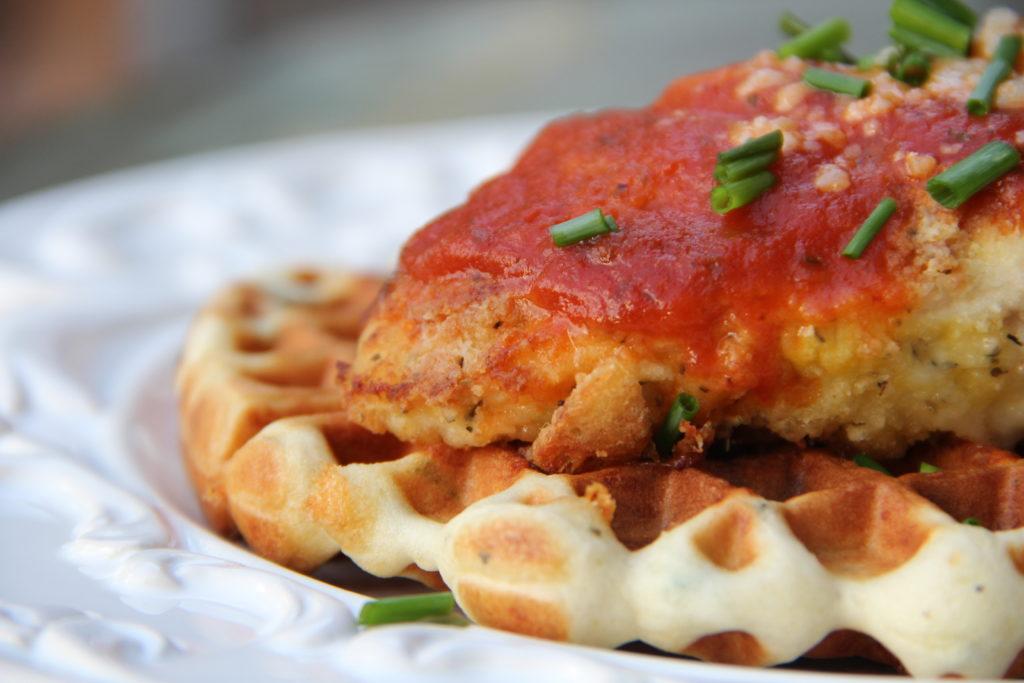 Italian Style Chicken & Waffles