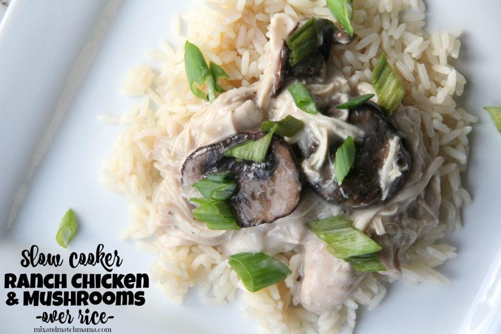 Ranch Chicken & Mushrooms