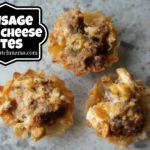 Sausage Chili Cheese Bites