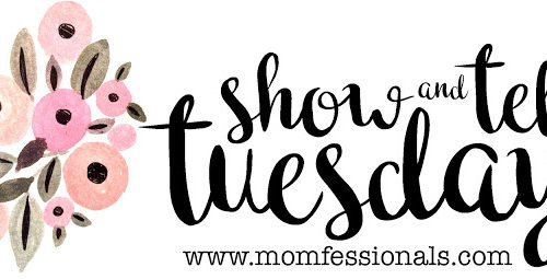 Show and Tell Tuesday Graphic 2017