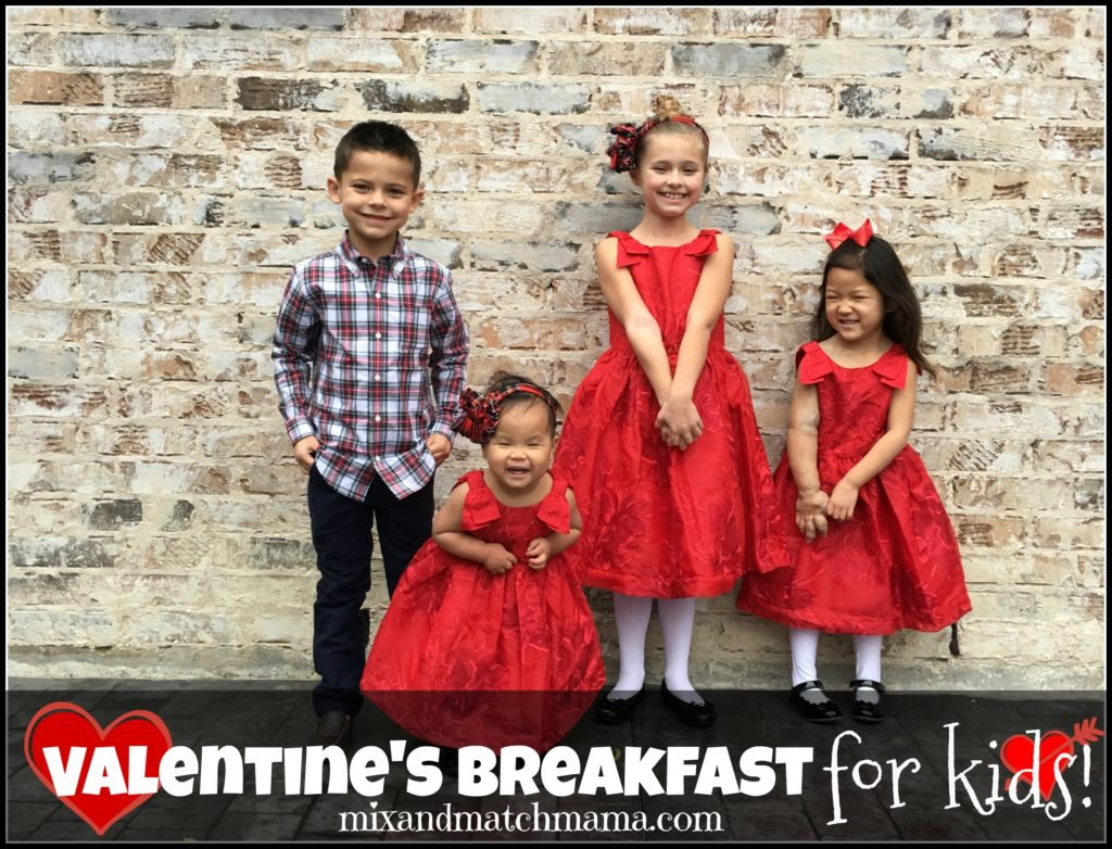 Valentine's Breakfast For Kids Recipe, Valentine's Breakfast for Kids!