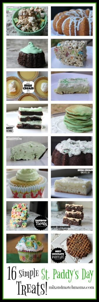 16 Simple St. Paddy's Day Treats