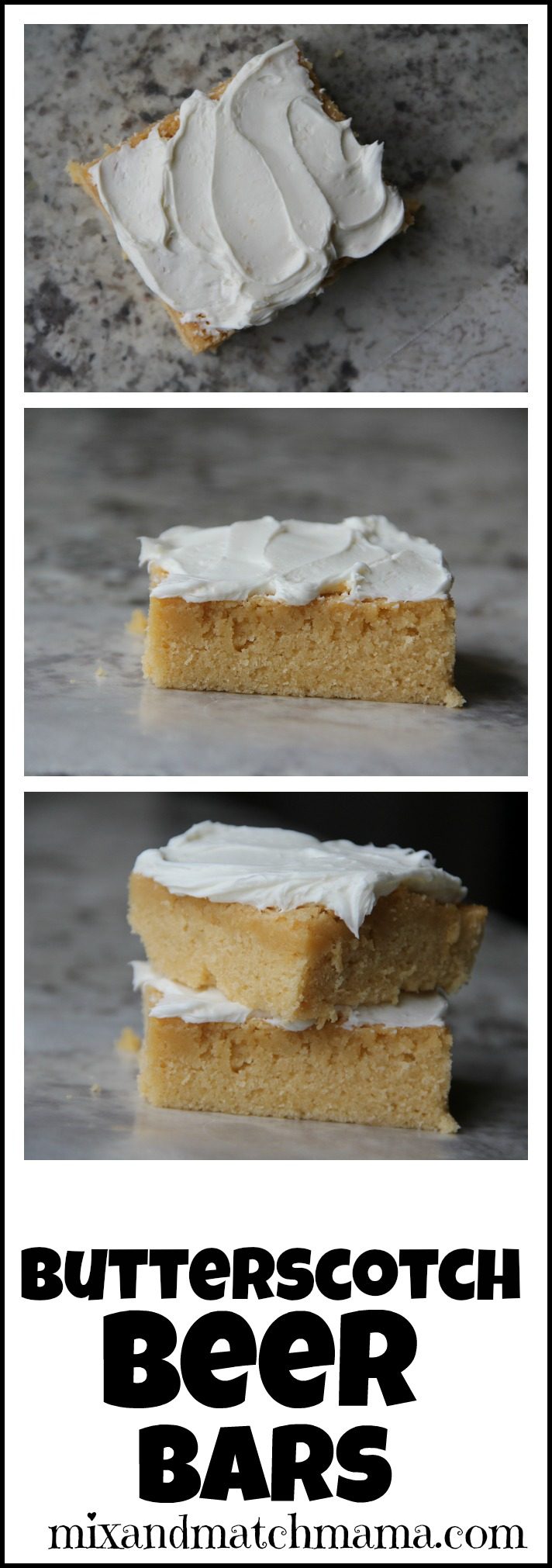 Cake Mix Butterscotch Bars