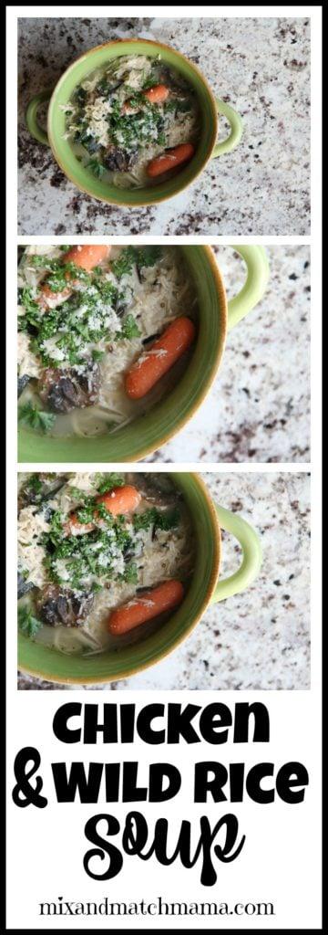Chicken & Wild Rice Soup Recipe, Chicken & Wild Rice Soup