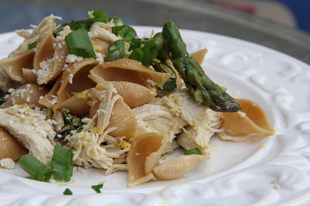 Lemon & Asparagus Chicken Pasta