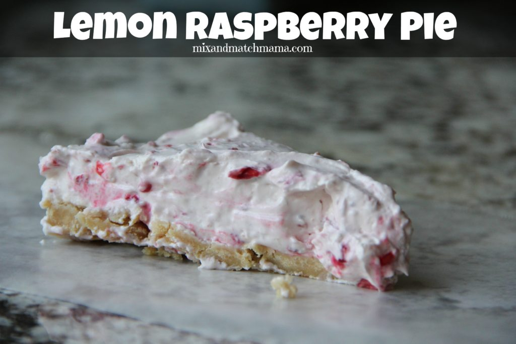 Lemon Raspberry Pie