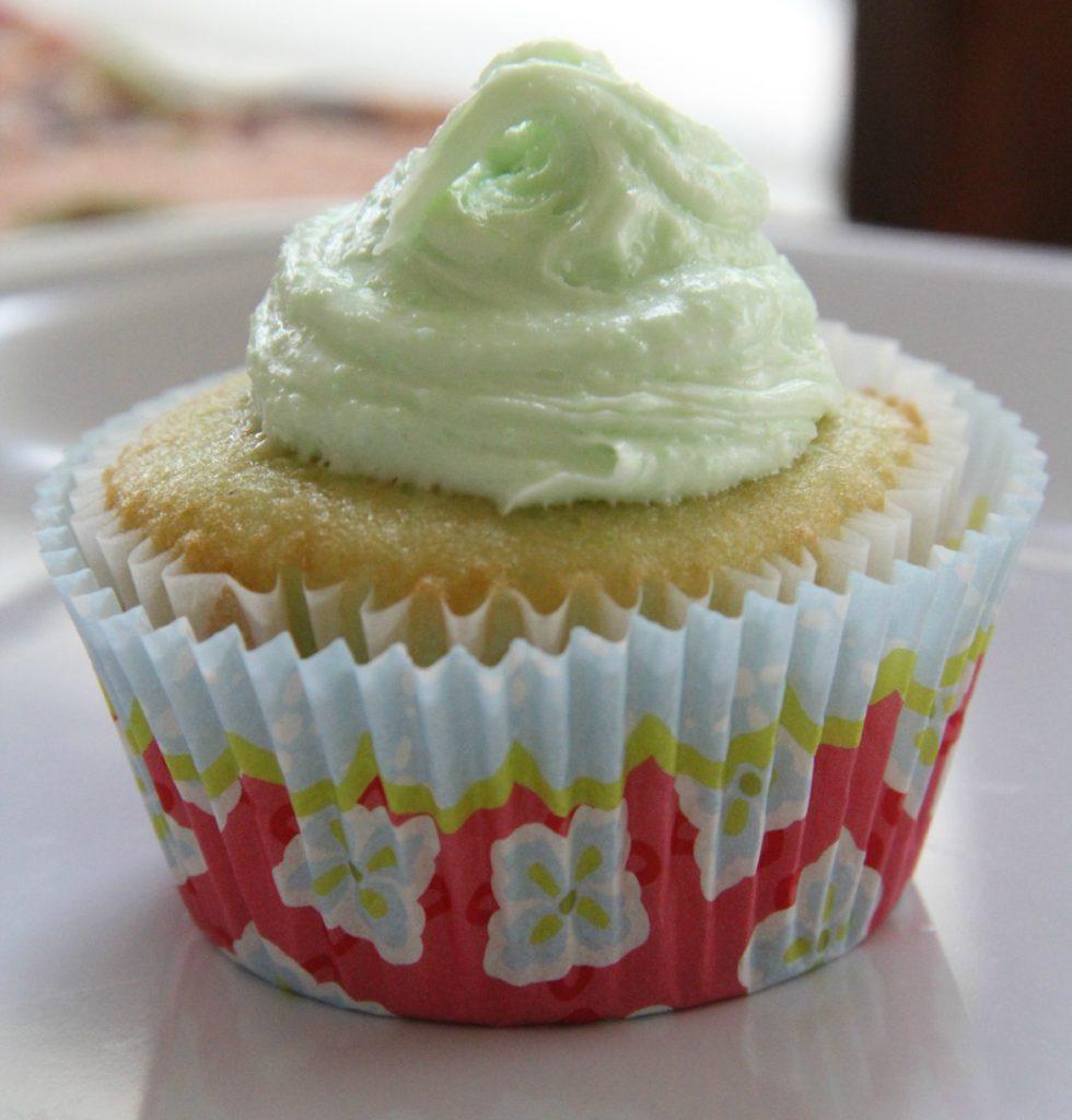 Lime Kool Aide Cupcakes