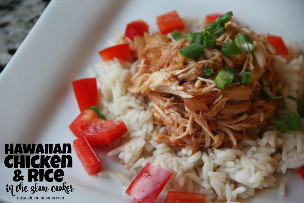 Hawaiian Chicken over Rice