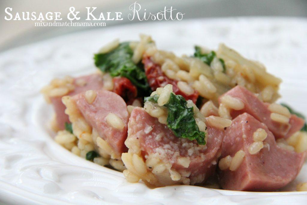 Sausage & Kale Risotto