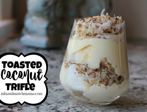 Toasted Coconut Trifle