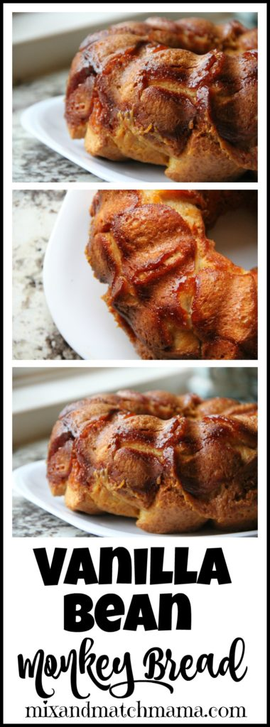 Vanilla Bean Monkey Bread