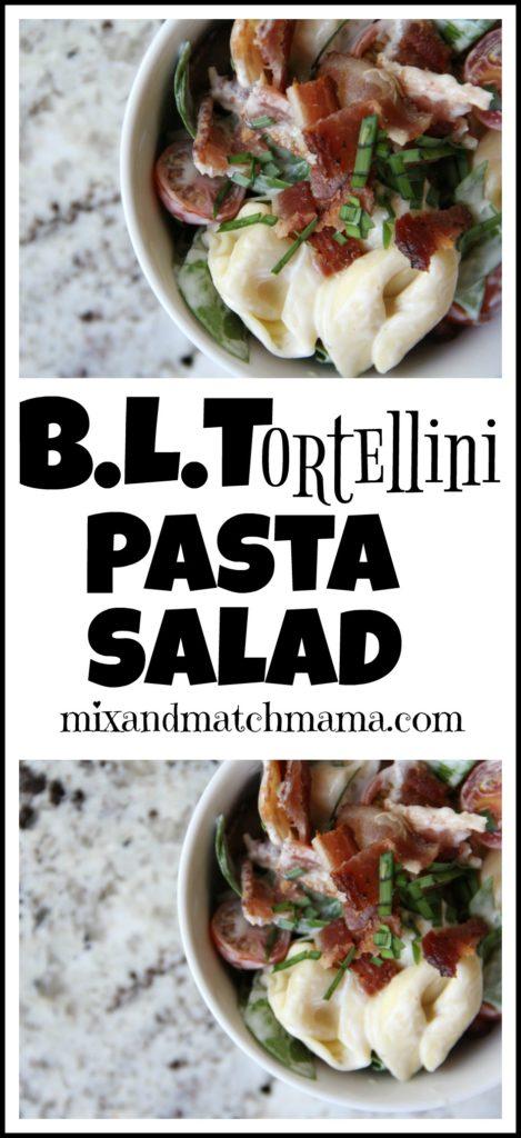 B.L.Tortellini Pasta Salad Recipe, B.L.Tortellini Pasta Salad