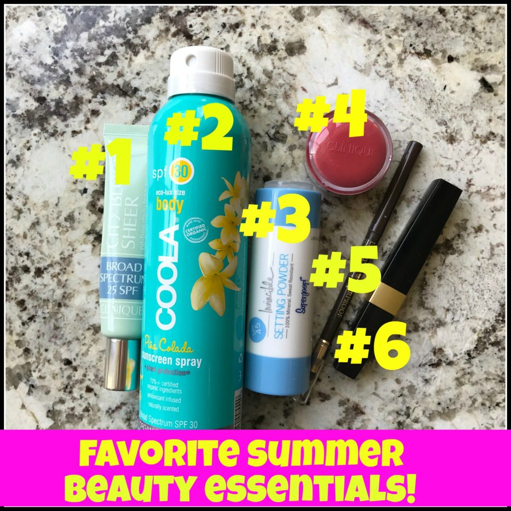 Favorite Summer Beauty Essentials