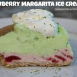 Strawberry Margarita Ice Cream Pie
