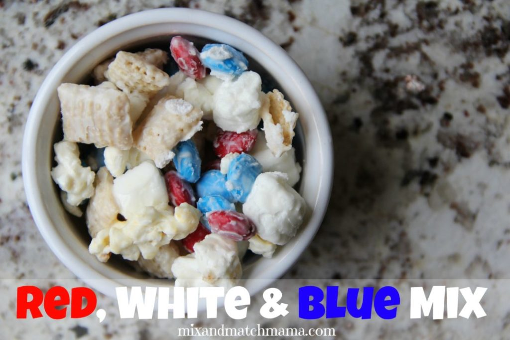 Red, White & Blue Mix